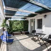 terrazza privata camera deluxe