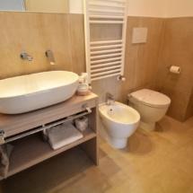bagno camera La Cava Matera